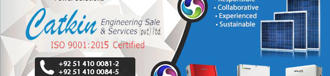 Catkin Engineering Sale & Services (Pvt) Ltd, Islamabad, Pakistan